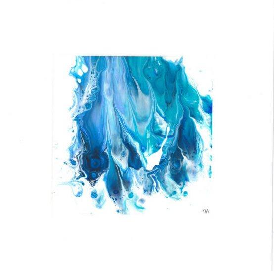Blue Abstract 1