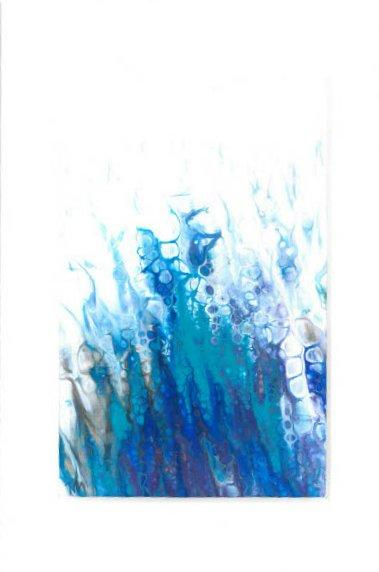 Blue abstract 8